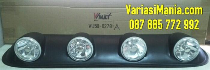 harga Roof lamp/roof foglamp/sun roof foglamp bulat 4foglamp+kabel+relay pnp Tokopedia.com