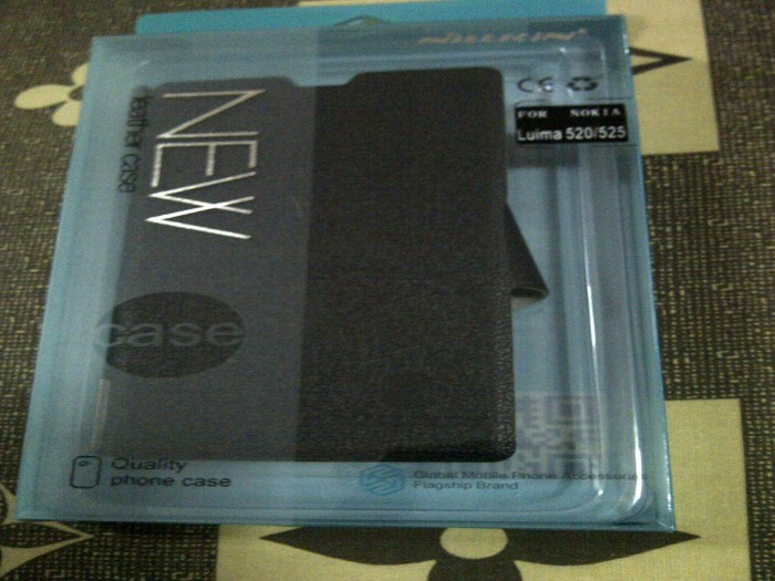 harga Nillkin fresh leather case nokia lumia 520 Tokopedia.com