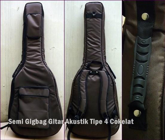 Jual Semi Gigbag Gitar Akustik Tipe 4 Cokelat Kota Bandung Juragan Softcase Tokopedia