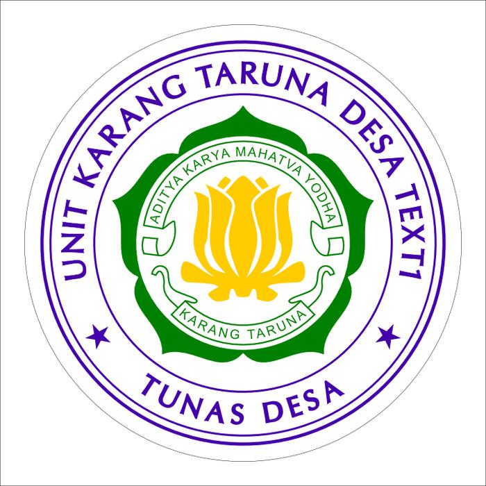 Contoh Logo Stempel Karang Taruna