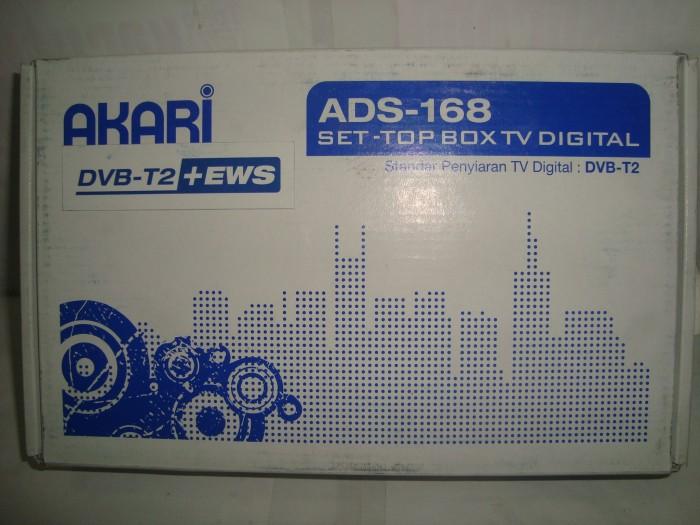 Set Top Box DVB-T2 Akari ADS-168 (EWS)