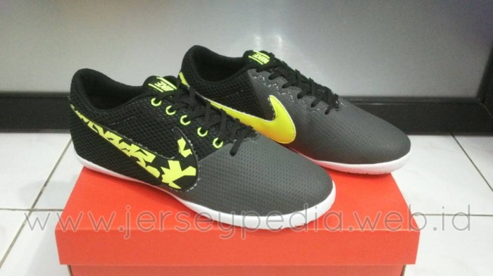 Jual Sepatu Futsal Nike Elastico Pro Abu Abu Grey