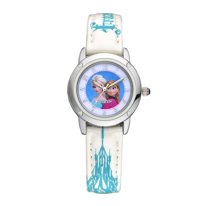 Frozen ORIGINAL FZ5460 W Jam Tangan Anak PUTIH White Disney Kids Watch