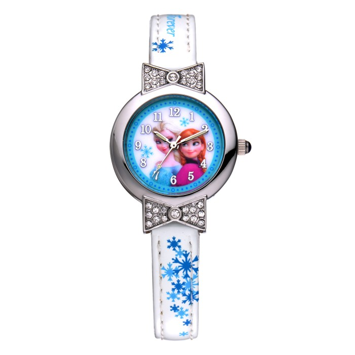 Frozen ORIGINAL FZ5455-W Jam Tangan Anak PUTIH White Disney Kids Watch