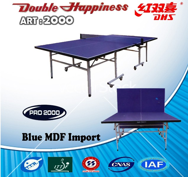 TENIS MEJA DHS DOUBLE HAPPINESS ART 2000