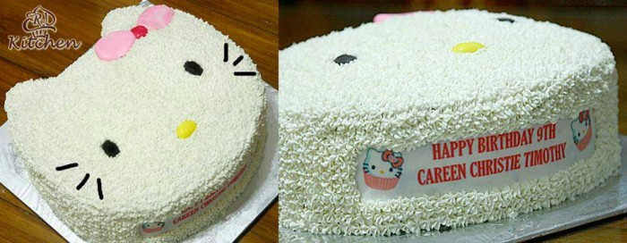 050f2e6ca Jual Kue Ulang Tahun Karakter Hello Kitty - Kota Tangerang - RJ ...