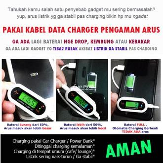 harga Kabel data charger pengaman arus iphone 5.6/ ipad mini funpod Tokopedia.com