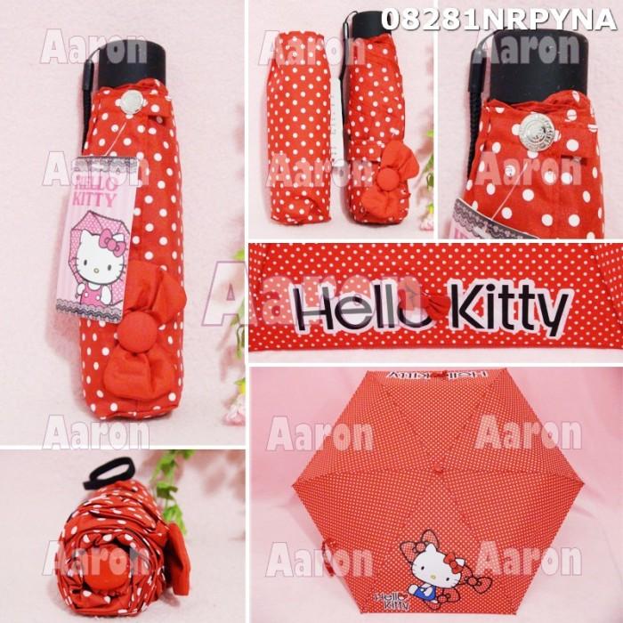 Payung lipat hello kitty ori