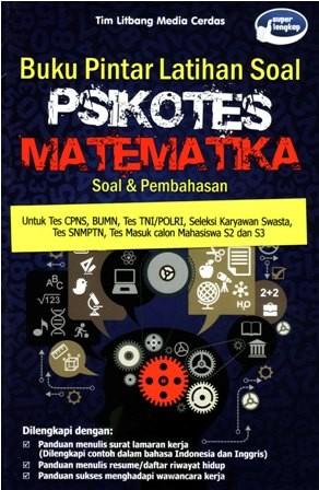 Jual Buku Pintar Latihan Soal Psikotes Matematika Soal Pembahasan