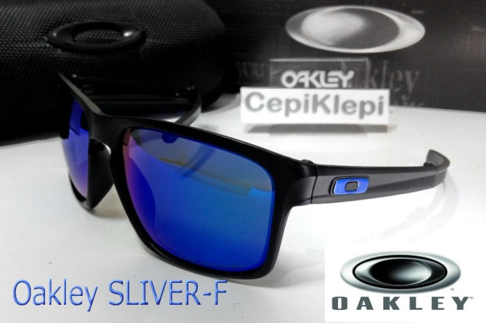8e62d32e46 Jual Oakley SLIVER F - Matte Black Violet Iridium (Polarized) - DKI ...