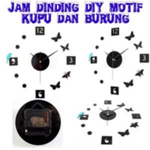 Jual Jam Dinding DIY Motif Kupu   Burung - Rajaunik  497ddc05aa