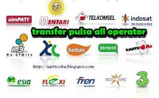 Jual Agen Pulsa Transfer Telkomsel Indosat Xl Axis Termurah Grosir