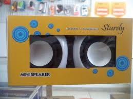 harga Mini speaker sturdy Tokopedia.com