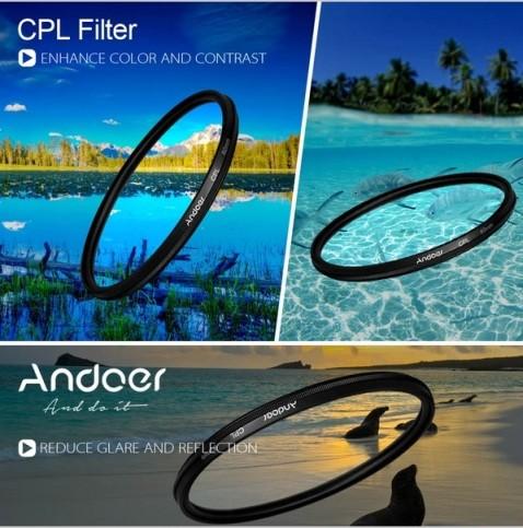 harga Filter cpl 52mm andoer digital slim for canon nikon sony 52 mm Tokopedia.com