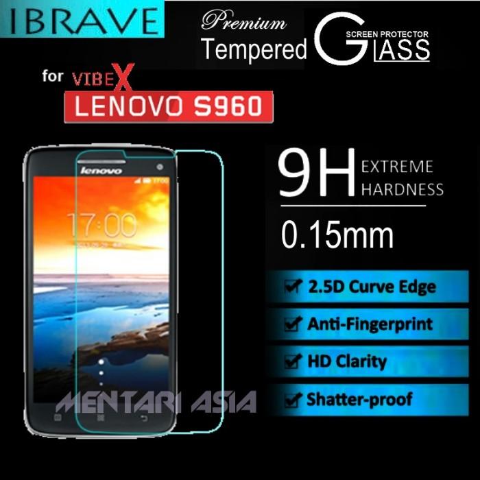 harga Tempered glass sp for lenovo vibe-x s960 : ibrave 0.15mm 2.5d premium Tokopedia.com