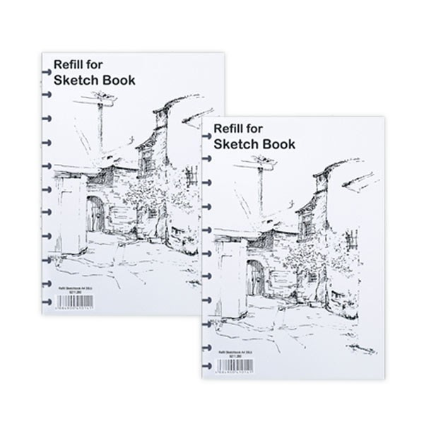 Katalog Sketchbook A5 Travelbon.com