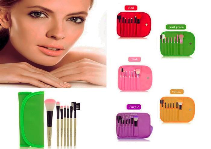 harga Brush set makeup for you / make up for you 7pcs / set travel size Tokopedia.com