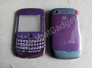 harga Casing blackberry gemini 8520 ungu fullset Tokopedia.com