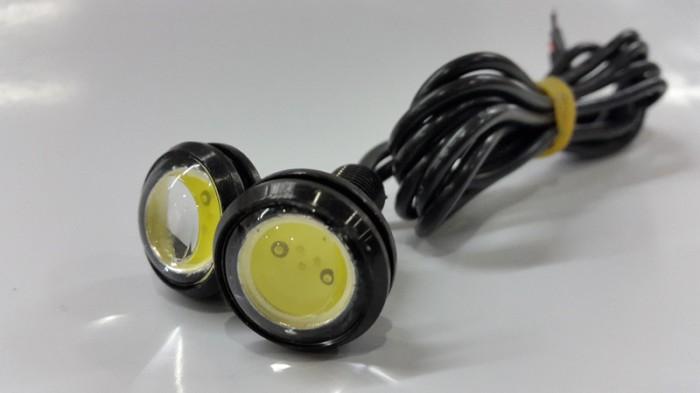 harga Motorcycle bolt on screw eagle eye led cob cahaya putih Tokopedia.com