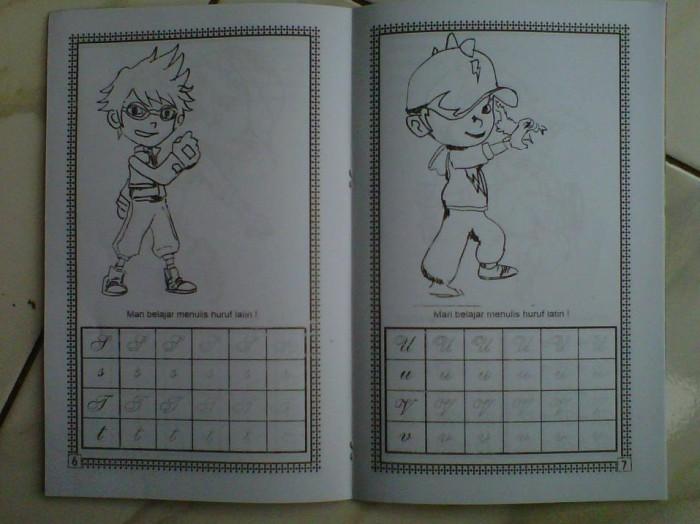 Jual Buku Mewarnai Dan Komik Special Edition Bobo Boi Juragan