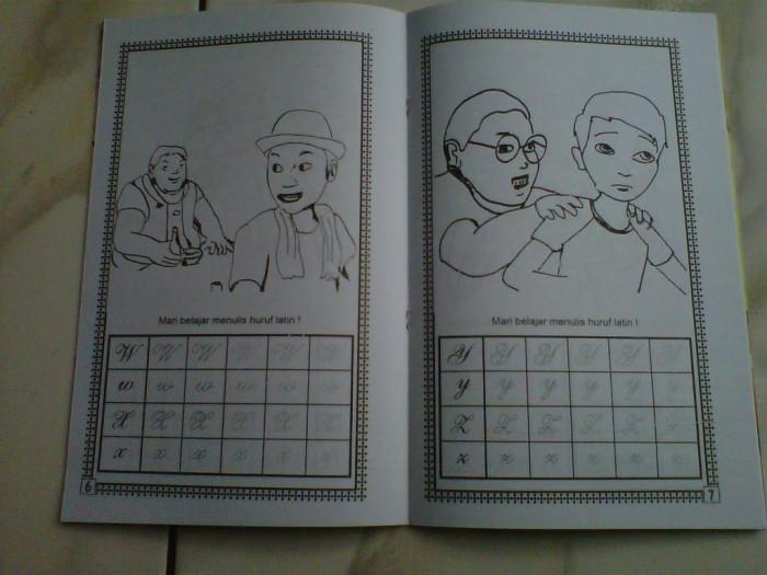 Jual Buku Mewarnai Dan Cerita Special Edition Adit Sopo Jarwo