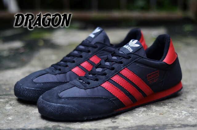 Jual Sepatu Adidas Dragon Murah Original Vietnam  295 (Hitam Merah ... 5be73c3c8e
