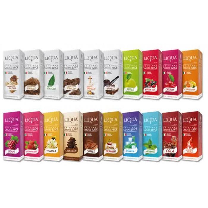 Liquid Liqua 10ml Premium | Smoke Juice | Refill Rokok Elektrik Buah