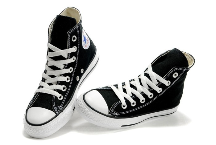 Jual Sepatu Converse All Star hitam putih panjang - zahra-grosir ... 466d01ea54