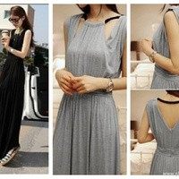 harga Bohemian/long dress/maxi dress import - tpd5888black Tokopedia.com