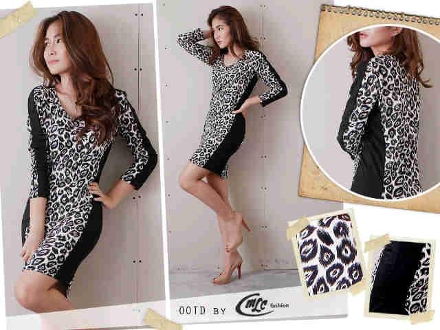harga Dress olla leopard Tokopedia.com