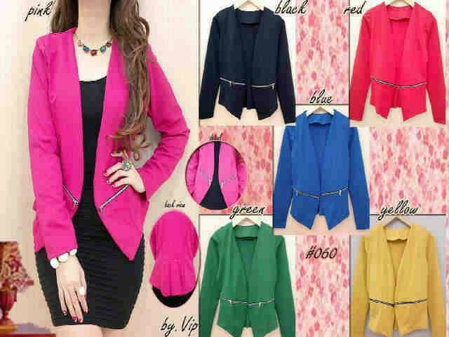 harga Blazer wedges resleting xl Tokopedia.com