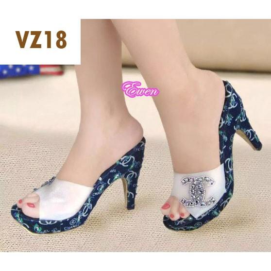 Sepatu Sandal Wanita Cewek High Heel Hak Tinggi Pesta VZ18