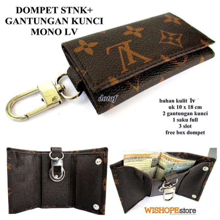 Foto Produk DOMPET KUNCI STNK MOBIL / MOTOR MONO LV dari pusat grosir tas dompet