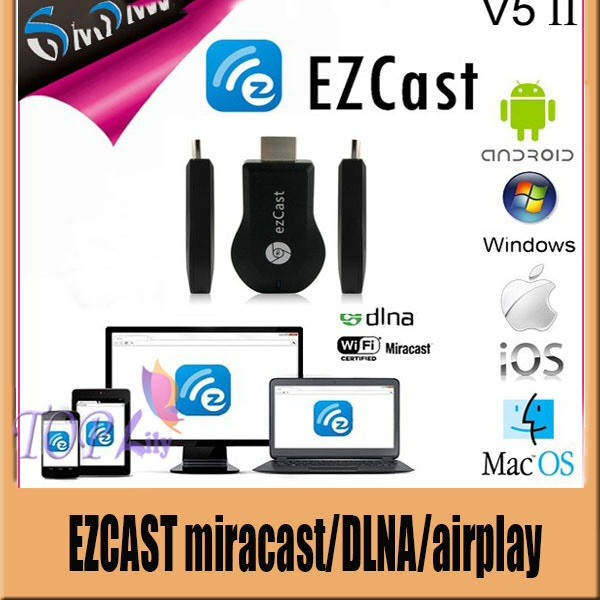 harga Ez cast wifi miracast / airplay media sharing hdmi (aka. chromecast) Tokopedia.com