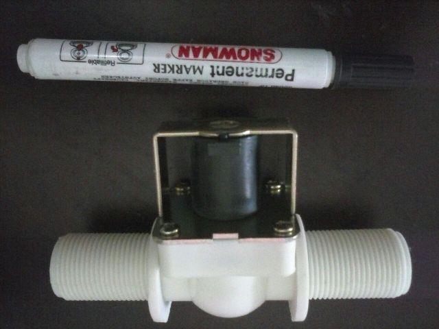 harga Jual solenoid valve plastik 3/4 inch | kran wastafel 3/4 inch 12vdc Tokopedia.com