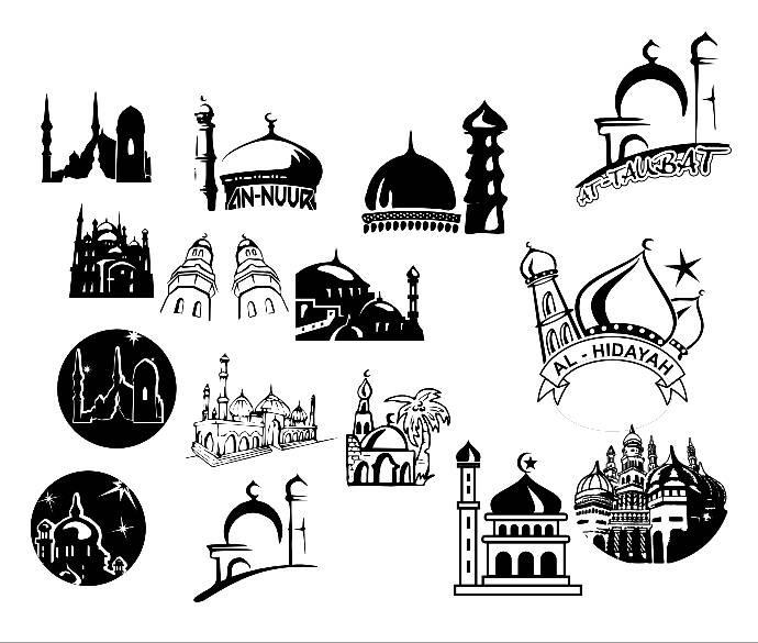 Jual Desain Stempel Masjid Stamp - Bangjo Stempel