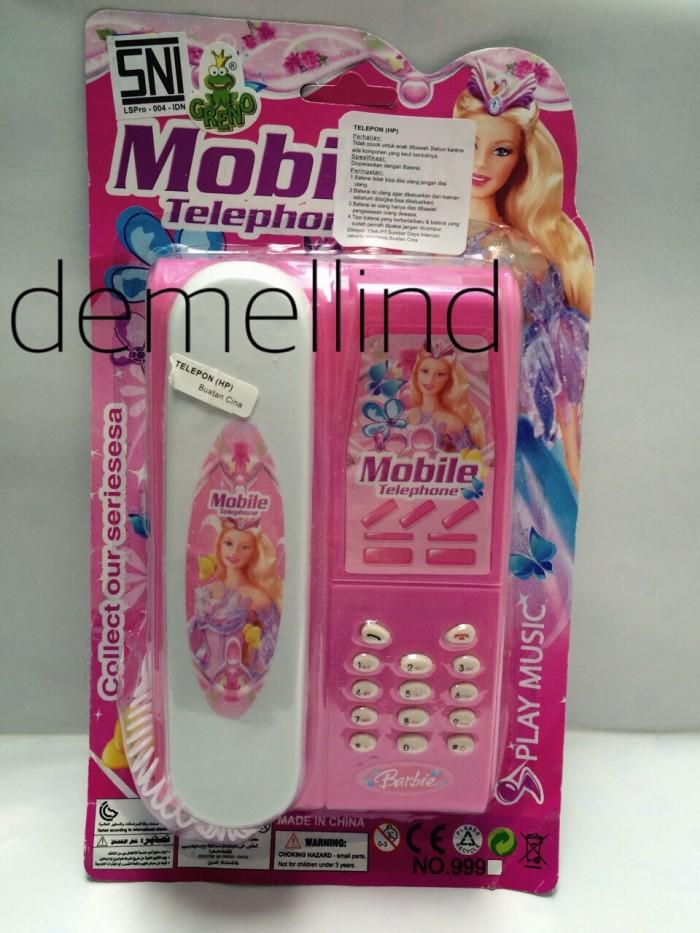 harga Telepon mainan barbie pink Tokopedia.com