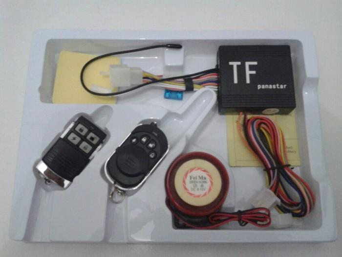 Jual Alarm Motor Panastar Fitur Lengkap Cara Pasang