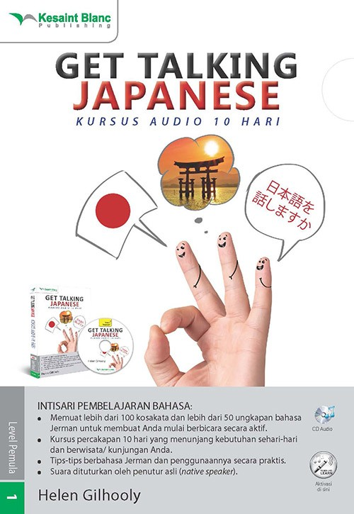 harga Get talking japanese: kursus audio 10 hari Tokopedia.com