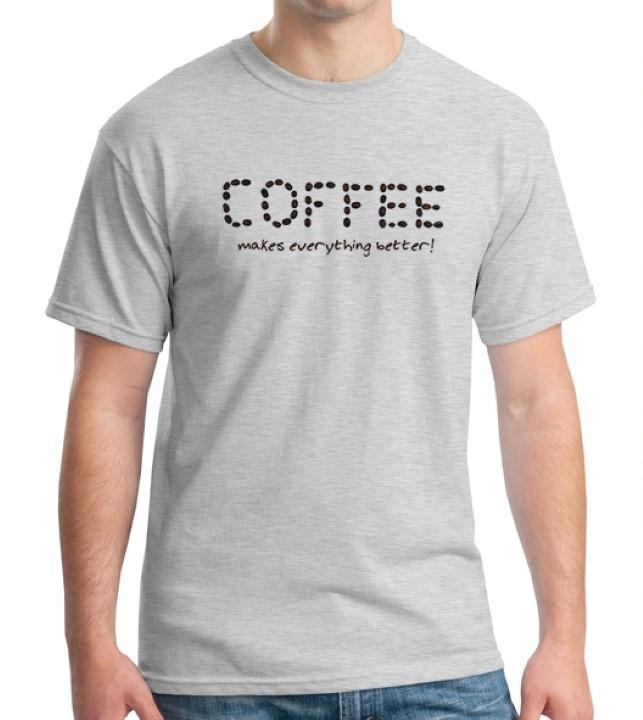 harga Kaos coffee addict 14 Tokopedia.com