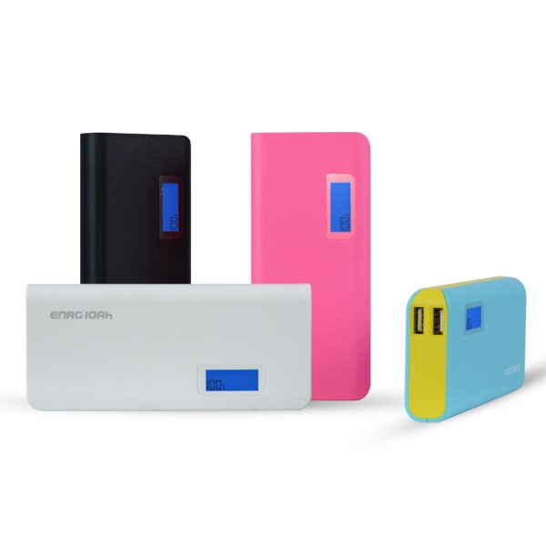 Wellcomm powerbank enrg 10000 mah - biru