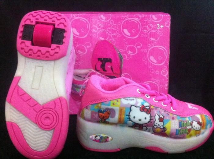 harga Sepatu roda 2in1 (roller shoes) - hello kitty Tokopedia.com
