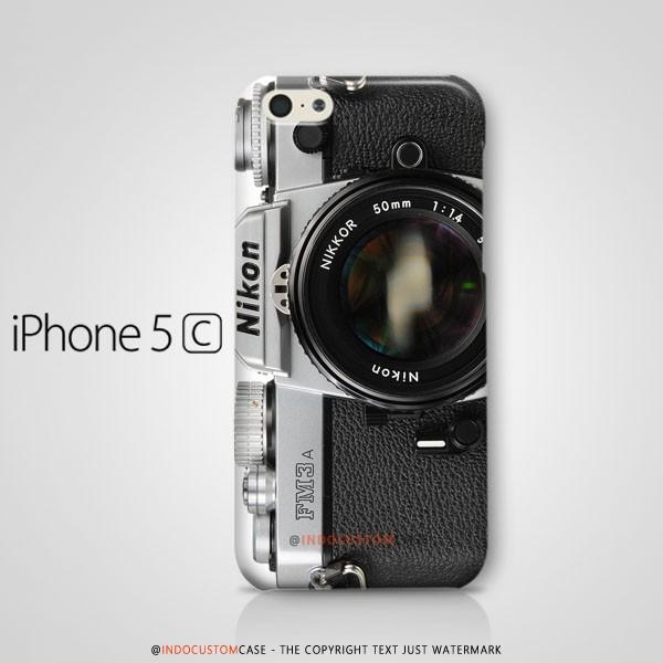 Camera Nikon FM3A iPhone 5C Casing Custom Hard Case