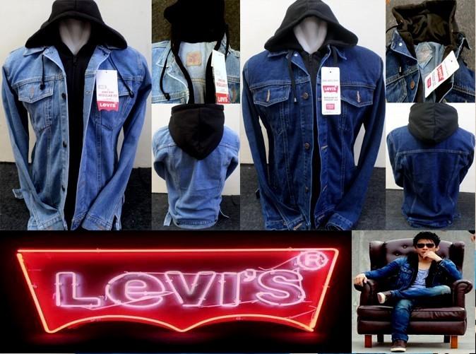 harga Jaket pria jeans levis hoodie ariel keren distro murah kupluk Tokopedia.com