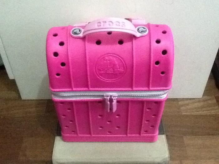 9b3ad3b57be966 Jual crocs zip top backpack neon magenta carnation - Kota Surabaya ...