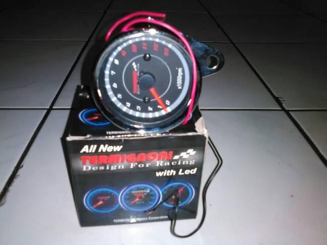 jual tachometer indikator rpm termigoni takometer meter aksesoris