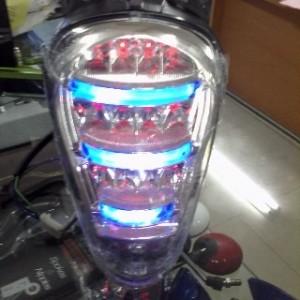 harga Stoplamp led honda scoopy fi lampu belakang motor aksesoris Tokopedia.com