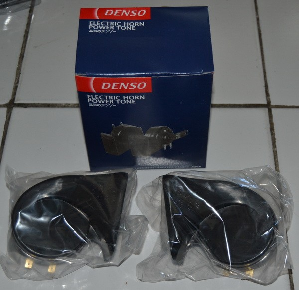 harga Klakson keong denso horn variasi aksesoris motor universal