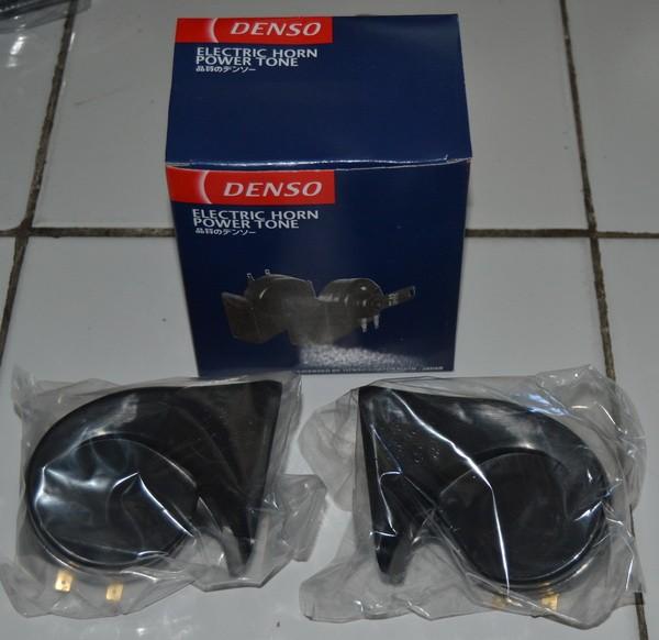 harga Klakson keong denso horn variasi aksesoris motor universal Tokopedia.com