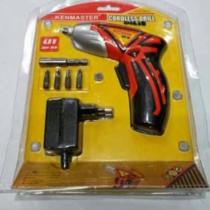 harga Bor charger obeng kenmaster / obeng bor cordless drill kenmaster Tokopedia.com